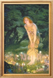 edward robert hughes midsummer eve c 1908 205x300 Летнее Солнцестояние  и.......
